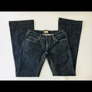 Free People Low Rise Boot Cut Ladies Jeans Size 26